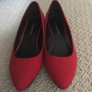 Cityclassified Shoes - 🌹Super cute dark red wedges